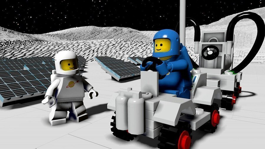 LEGO Worlds Spaceman