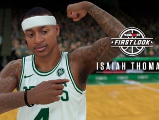 NBA2K18 Screenshot Isaiah_Thomas Celtics