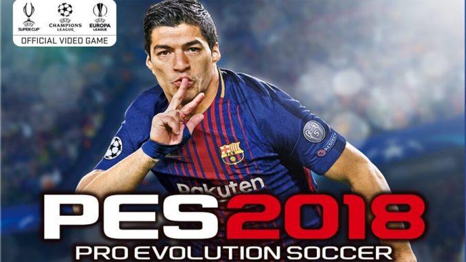 PES 2018 Cover Novità