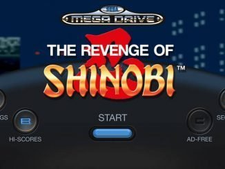 SEGA Forever The Revenge of Shinobi