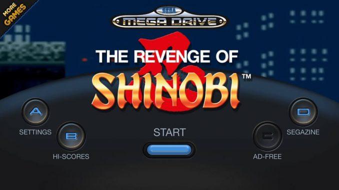 SEGA Forever The Revenge of Shinobi