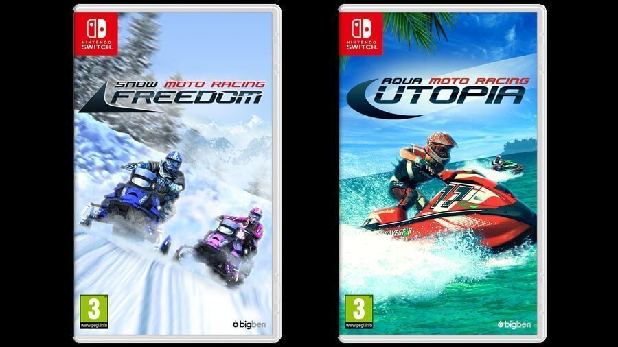 Snow Moto Racing Freedom e Aqua Moto Racing Utopia