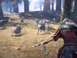 Dynasty Warriors 9 Encountering wolves