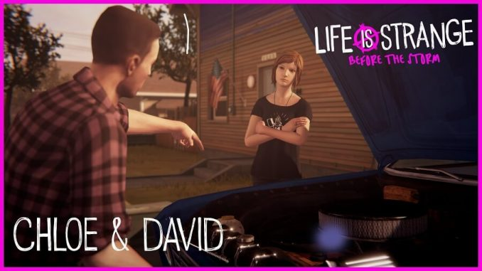Life is Strange Before the Storm David e Chloe