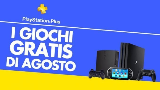 PlayStarion Plus Agosto