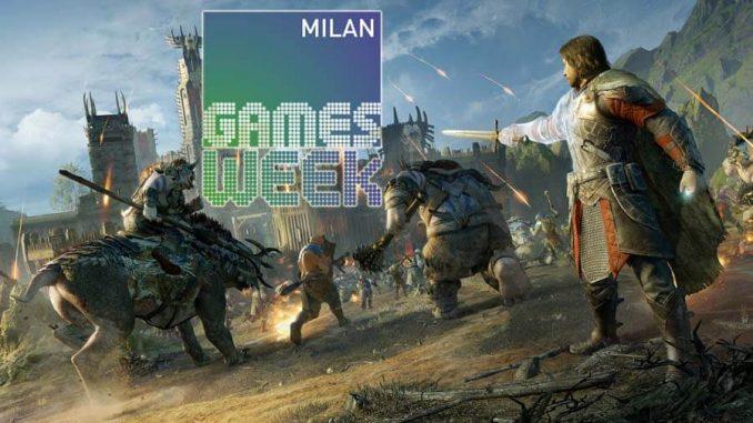 La Terra di Mezzo L'Ombra della Guerra Milan Games Week