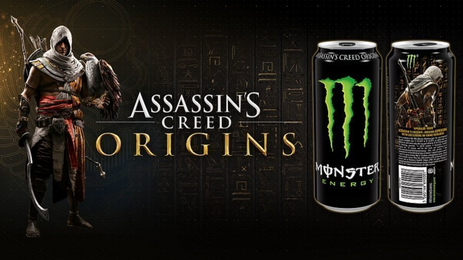 Assassin's Creed Origins Monster Enegy
