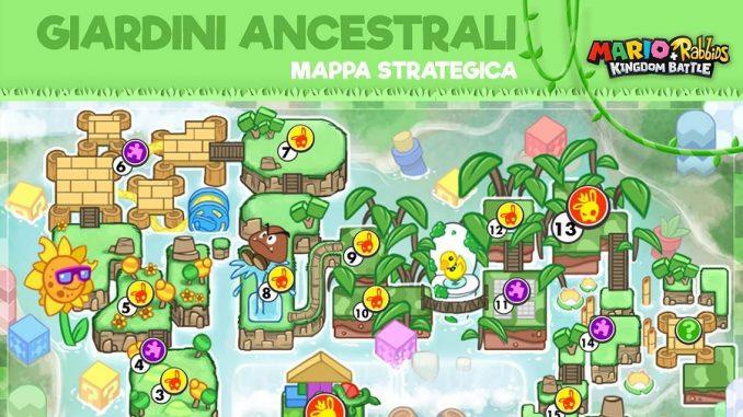 Mappa Strategica Cope - Mario+Rabbids