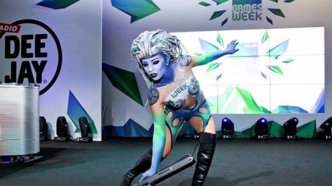 Milan Games Week Cosplay Imacrew