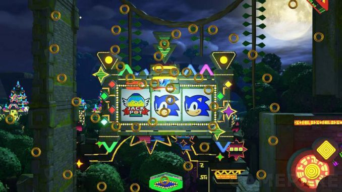 Sonic Forces Casino Forest