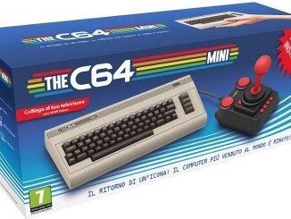 THEC64_MINI In arrivo con un joystick in dotazione e 64 giochi classici già installati