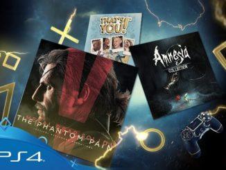 PlayStation Plus: i titoli gratuiti di Ottobre 2017