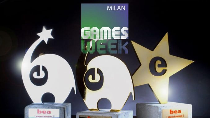 Milan Games Week - Best Event Awards - BEA