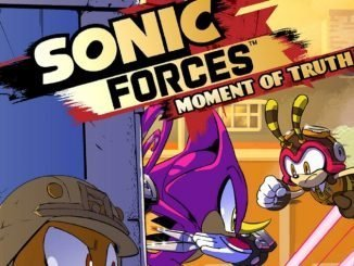 Sonic Forces Fumetto