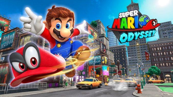 Super Mario Odyssey Screen 0
