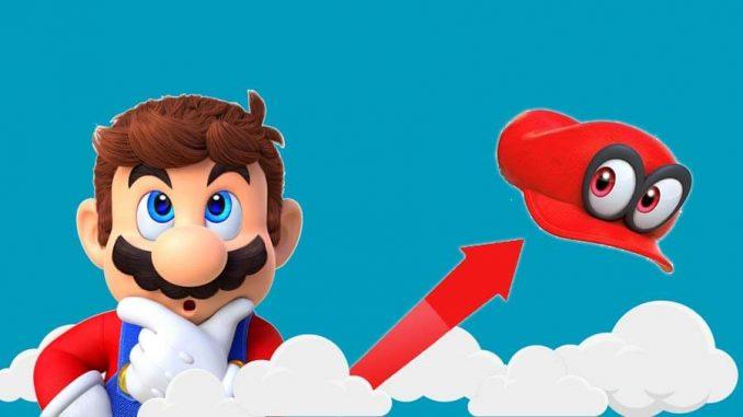 Super Mario Odyssey vendite record