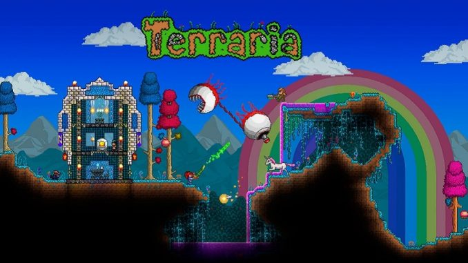 1.3 di Terraria per Xbox One e PlayStation 4