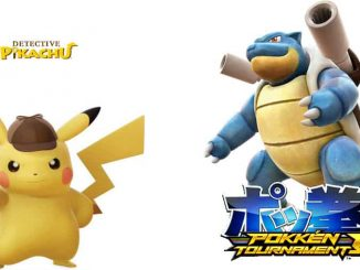 Detective Pikachu Pokkén Tournament DX