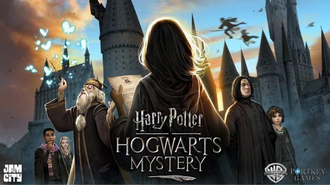 Harry Potter: Hogwarts Mystery Key Art