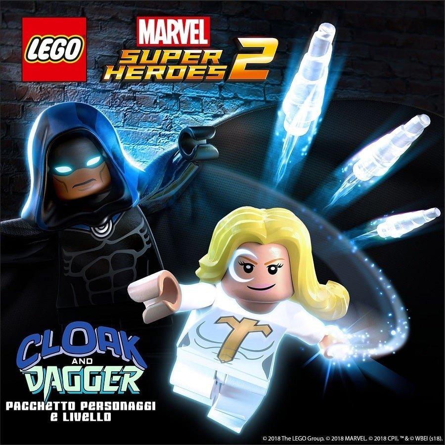 LEGOMarvel Super Heroes 2 DLC Cloak e Dagger