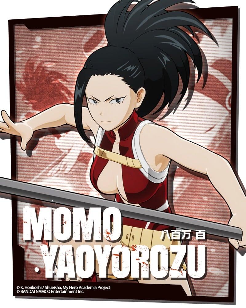 Momo_Yaoyorozu_MY HERO Game Project