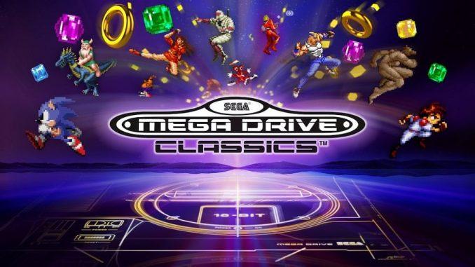 SEGA Mega Drive Classics Xbox One PlayStation 4