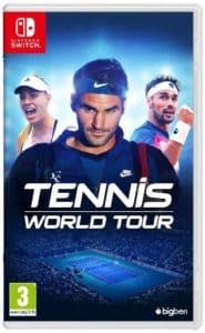 Tennis World Tour copertina Nintendo Switch