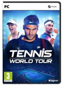 Tennis World Tour copertina PC