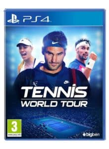 Tennis World Tour copertina PS4