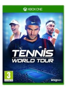 Tennis World Tour copertina XBOX