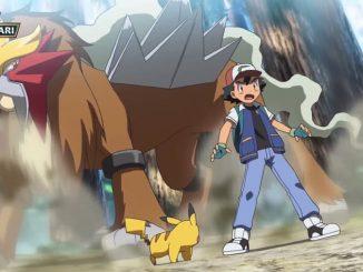 Pokémon leggendari Entei e Raikou
