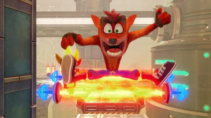 Crash Bandicoot N. Sane Trilogy E3 2018