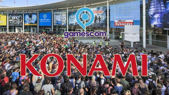 Gamescom Konami