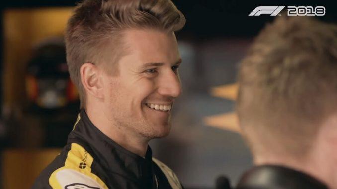 Nico Hülkenberg F1 2018 Codemaster