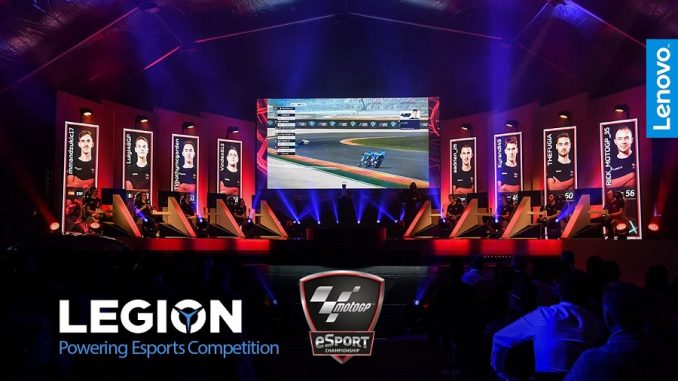Lenovo Legion Dorna MotoGP eSport Championship partnership