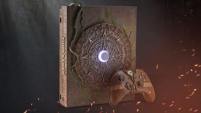 Shadow of the Tomb Raider Console Personalizzata Xbox One X