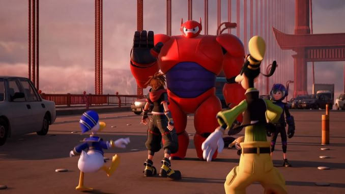 KINGDOM HEARTS III Bighero6