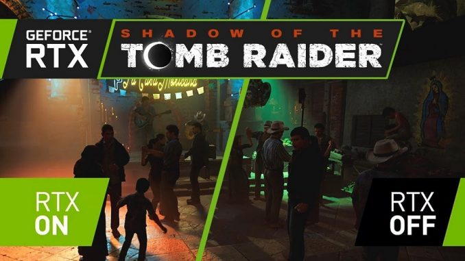 NVIDIA Shadow of the Tomb Raider Driver