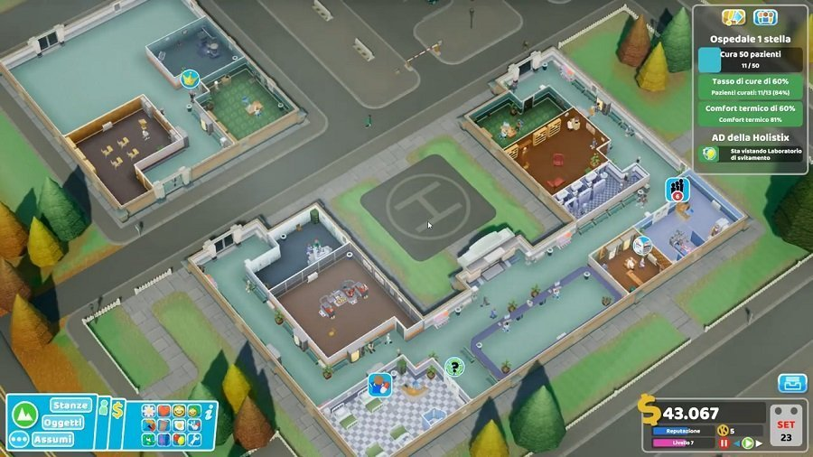Two Point Hospital Screen