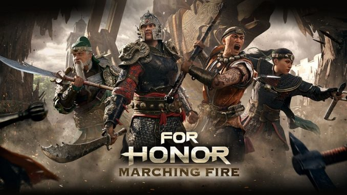 Ubisoft For Honor Marching Fire