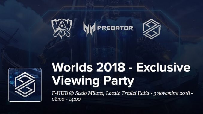 Worlds 2018 - Exclusive Viewing Party
