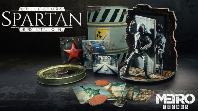 Spartan Collector's Edition di Metro Exodus