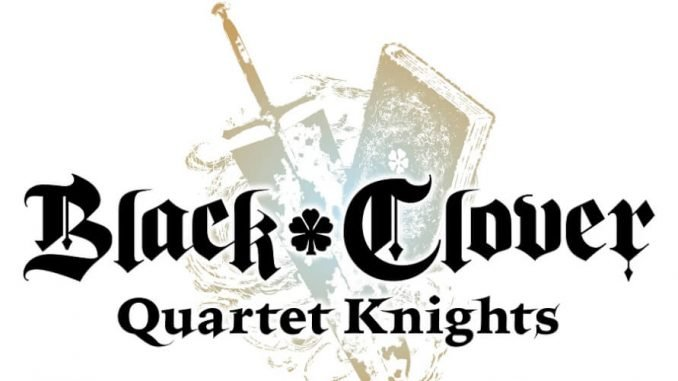 Black Clover Quartet Knight