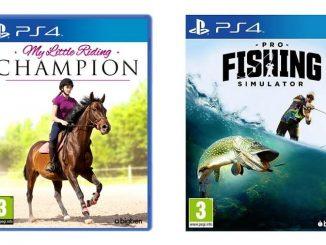My Little Riding Champion e Pro Fishing Simulator
