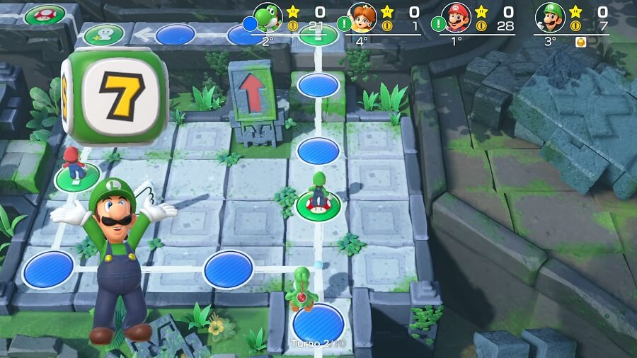 Super Mario Party Screen 5