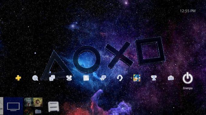 tema dinamico per PS4 Symbols in the Stars