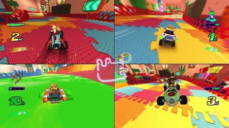 Nickelodeon Kart Racers Screen2