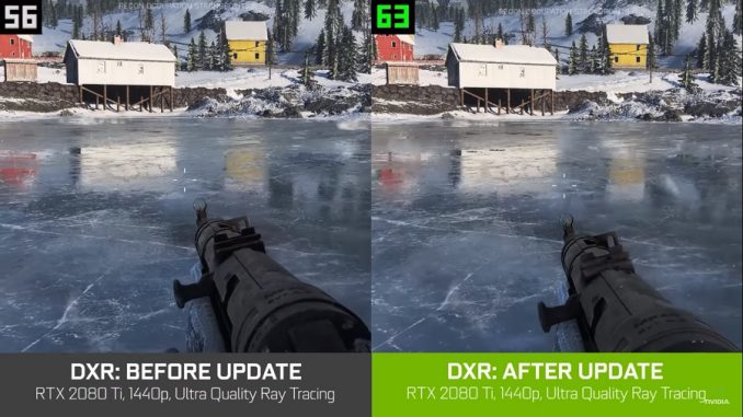 Nvidia Geforce 60 FPS su Battlefield V