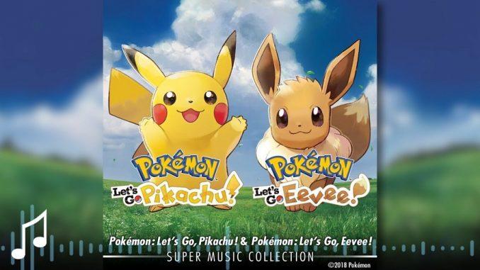 Pokémon Let's Go, Pikachu!&Pokémon Let's Go, Eevee!Super Music Collection