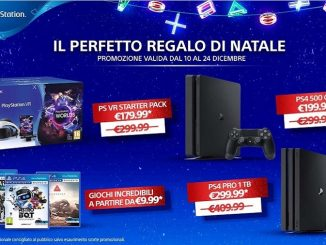 promo natale playstation